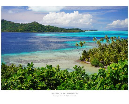 [a7R3] 지상낙원 타히티 보라보라섬