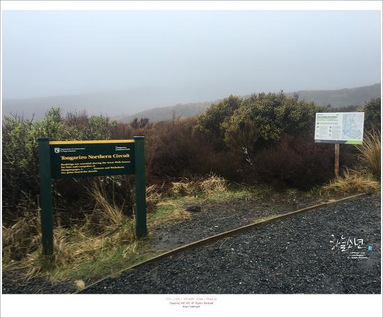 뉴질랜드 여행 - 최악의 날씨 최고의 산 통가리로 알파인 크로싱 (Tongariro Alpine Crossing)