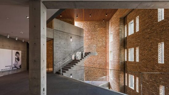 *오래된 벽돌로 구성한 전시 시설-[Tadao Ando designs Wrightwood 659 exhibition space in Chicago]