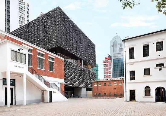 *홍콩 재활용 주철 알루미늄으로 된 herzog & de meuron의 건물-[herzog & de meuron completes a pair of buildings as part of hong kong arts complex]