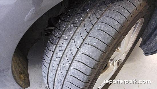 [피카소 관리하기 (12)] 미쉐린 타이어 위치교환 + 요소수 캡 리콜 + 불스파워 주입