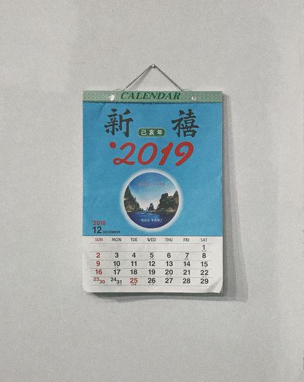 2019년 일력