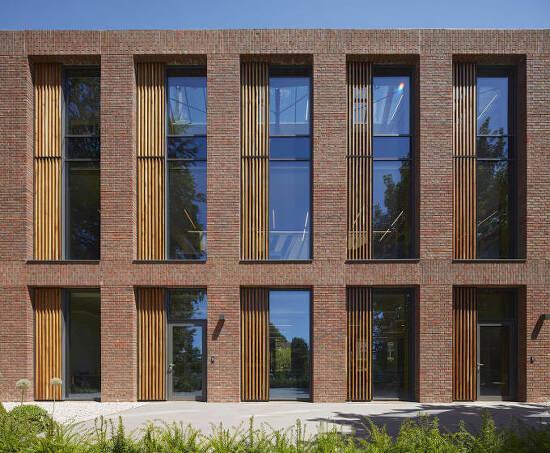 *붉은 벽돌로 구성한 중등학교 도서관-[ WALTERS & COHEN ARCHITECTS ] REIGATE GRAMMAR SCHOOL