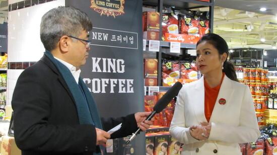 [포토기사] 킹커피,글로벌CEO Madam Thao 내한인터뷰