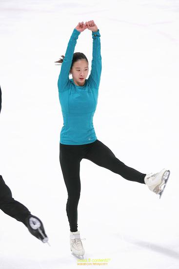 제73회 전국남녀 피겨스케이팅 종합 선수권대회 주니어 아이스댄스 전정은(인천논현고) 최성민(영등포공고) 선수 공식연습