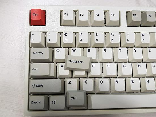 키보드 Caps Lock <-> Ctrl 키 1개월 사용기