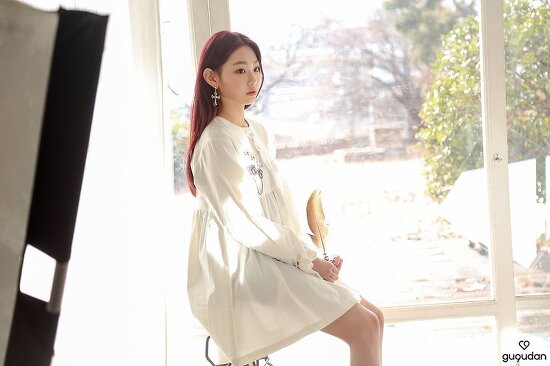 구구단 미나 움짤 화보 사진 레전드 IOI 출신 gugudan MINA 강미나