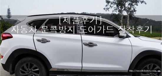 [제품사용후기]자동차 문콕방지 클립형 도어가드