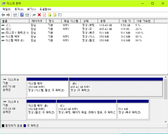 윈도우, 리눅스 부팅 usb 만들기 (UUI)
