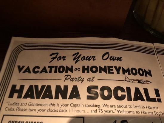 [방콕맛집] 칵테일바2- 하바나 소셜 havana social