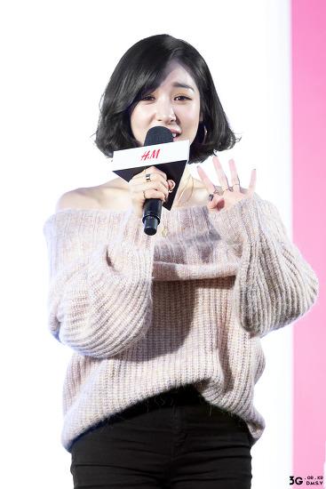 180927 잠실 롯데월드몰 아트리움 H&M 팬사인회 & 밋앤그릿 - 소녀시대 티파니