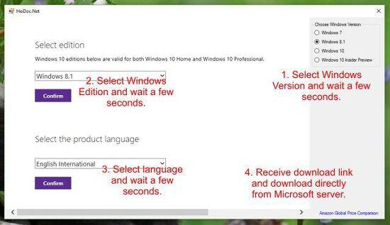 Microsoft Windows/Office ISO Download Tool v8.06 (윈도우/오피스 ISO 다운로드)