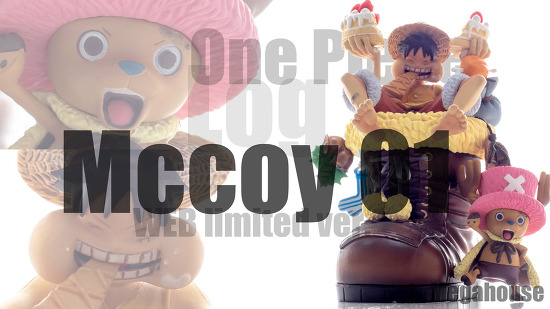 one piece log mccoy 01 web limited ver. by megahouse / 메가하우스 원피스 로그 맥코이 01 웹 한정판