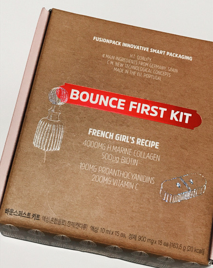 POSITIVE HOTEL BOUNCE FIRST KIT BOX