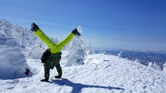 일본 자오(ZAO) 스키장 워크숍