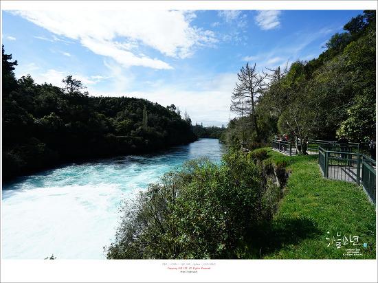 뉴질랜드 여행 - 서울보다 더 큰 타우포호수(Lake Taupo)