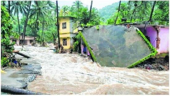 국제위러브유운동본부(장길자회장님) 인도의 홍수 피해로 인한 긴급 식량지원소식
