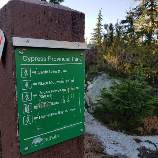 멋진 밴쿠버의 전경을 즐길 수 있는 이글 블러프 산행