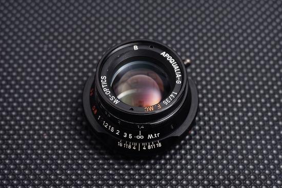 [Lens Repair & CLA]ms-optics apoqualia-g 35mm f1.4 Disassembly (미야자키 광학 렌즈의 조리개 수리 및 초점교정, 헤이즈 클리닝)