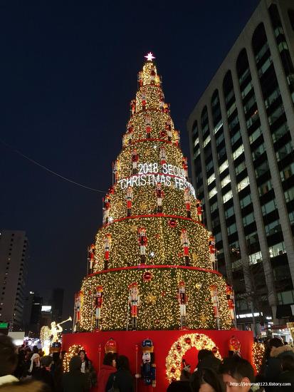 청계천 서울 크리스마스 페스티벌