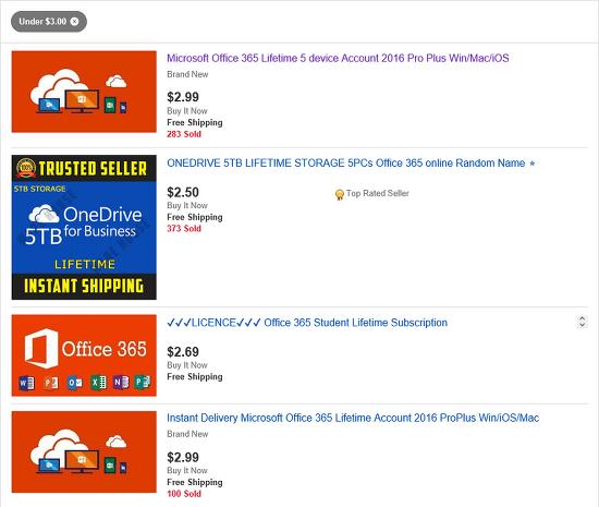 Microsoft Office 365 ProPlus Lifetime 영구 라이센스 3달러 구매 방법
