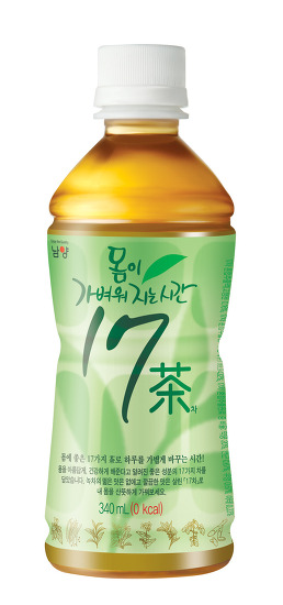 남양유업 '몸이 가벼워지는 시간 17차(茶)' 리뉴얼 출시