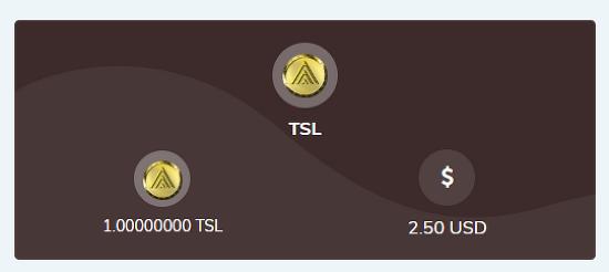 홈페이지 가입만해도 TSL코인 100개 지급? (28만원 가치)