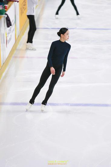 깐돌이 피겨 임은수 아쉽지만 아름다운 2위 제73회 전국남녀 피겨스케이팅 종합 선수권대회 공식연습 장면 1