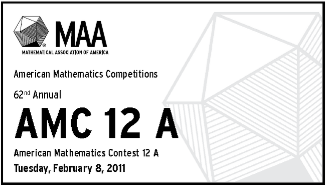 [AMC 12] 2011 American Mathematics Contest 12