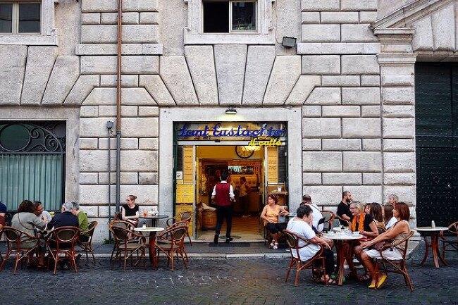 [이탈리아 커피기행, 로마] 산에우스타키오 Sant'Eustachio il Caffe, 카페 그레코 Antico Caffe Greco etc.
