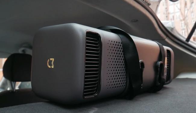 샤오미 차량용 공기청정기 설치로 자동차 미세먼지 해방