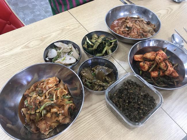 공주다살림로컬푸드직매장 점심시간