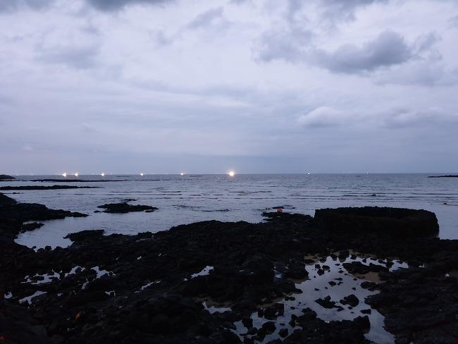 10월 함덕의 밤
