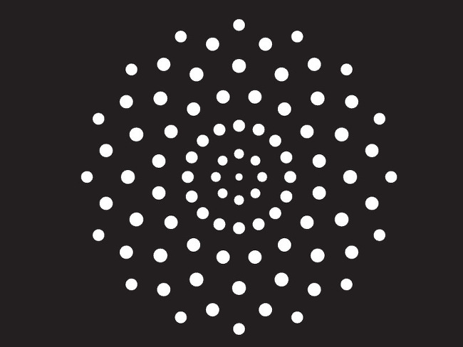 Particle] Canvas를 이용한 회전하는 우주 배경 만들기 모션