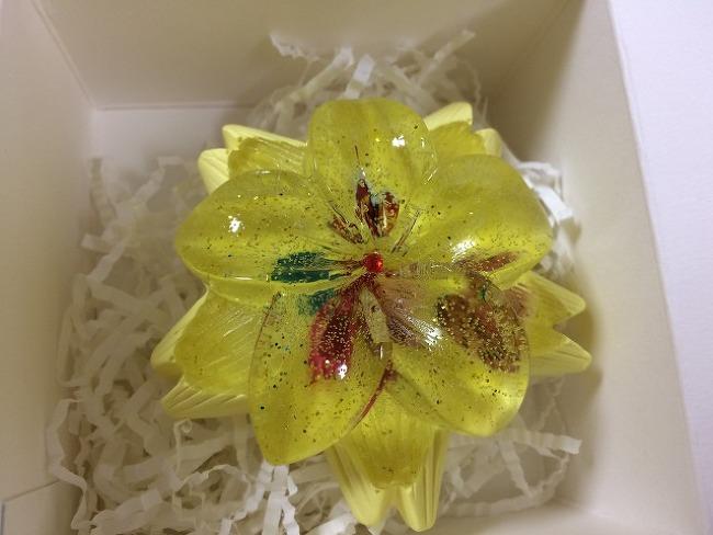 꽃모양 석고방향제