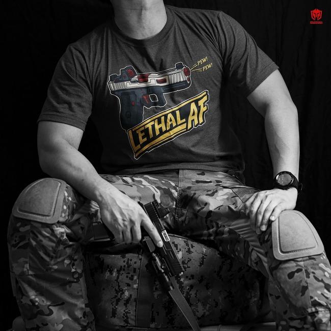 [Pratama Tactical] LETHAL AF BACKYARD HERO T-shirt