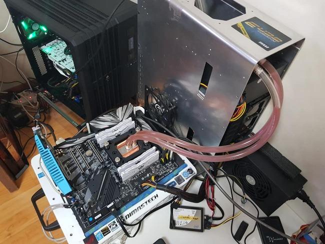 라이젠 2990wx  메모리 관련 벤치 마크