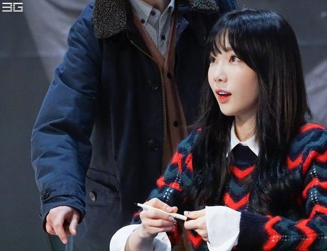 20171217 This Christmas 태연 팬사인회