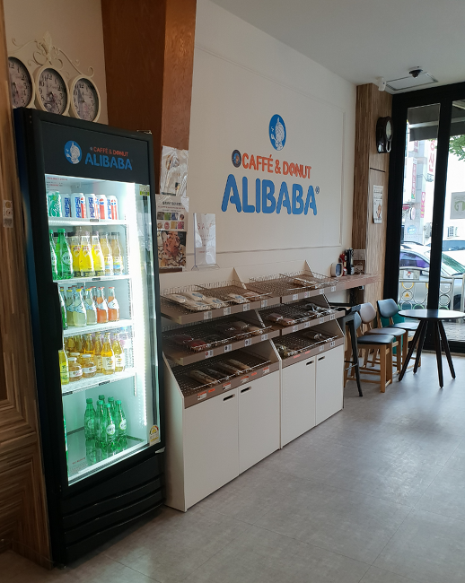 칠곡맛집 알리바바 카페 커피&도넛