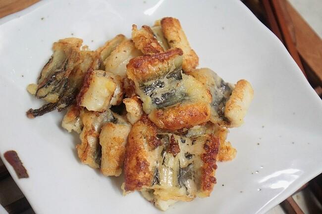 보양식 장어튀김 손질장어로 손쉽게
