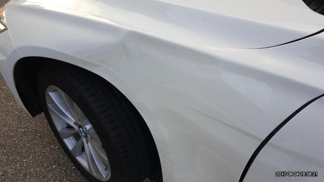 (2017/08/04) 차량사고 발생
