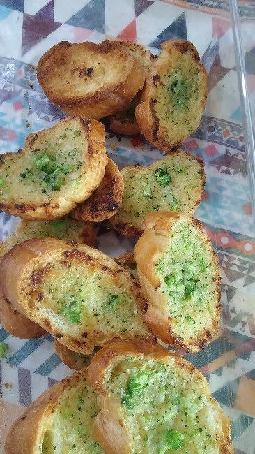 [브로콜리 마늘빵]-손쉽게 집에서 마늘빵