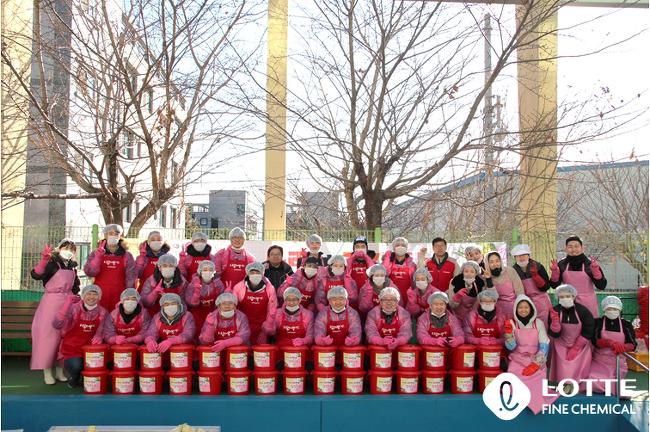 행복 담고 情을 나누는 '사랑의 김장 나눔' 활동