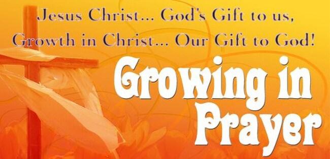 기도와 성장 (Praying and Growing)