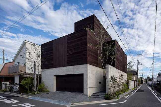 桑原淳司建築設計事務所의 주택
