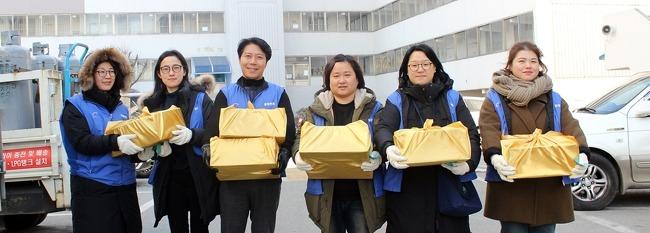 2019년 기해년 설선물 나눔 봉사활동