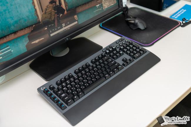 무선 게이밍 키보드 로지텍 G613, 게임 즐겨보..