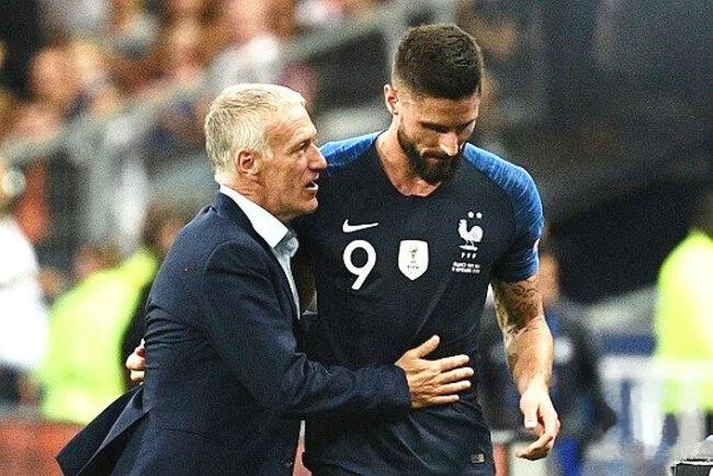 지루, 지단 제치고 프랑스 통산 득점 4위 올라..