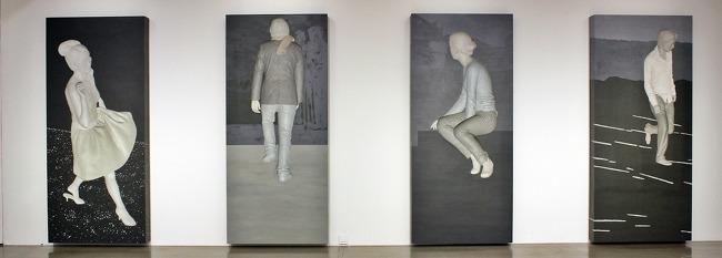 천안 아라리오갤러리에서 펼쳐진 이용덕 작가 개인전