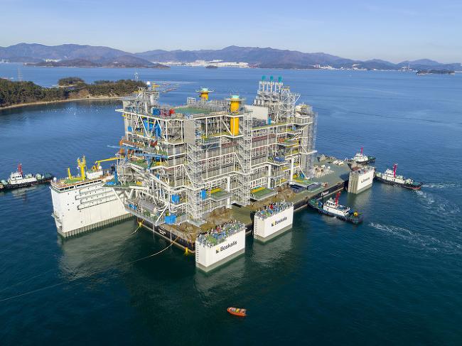 삼성중공업, 해상 플랫폼 완벽 품질 · 적기 인도